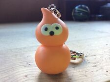 keyring zingy handmade EDF flame orange blob man Mother's Day gift