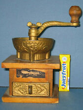 VERY OLD TOY COFFEE GRINDER OVERSIZED STORE DISPLAY * LARGE DIFFERENT SIZE CI412