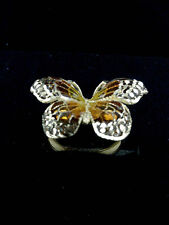 bague papillon or jaune 18carats(750/1000)