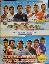 PANINI ADRENALYN BOARD GAME SOCCER 2013 ARGENTINA + 60 CARDS