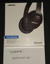 Bose SoundLink Around-Ear Wireless Headphones II Black NEW UK STOCK LOWEST!!