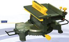 Troncatrice legno doppio piano di lavoro 1800 W disco 250 mm nutool