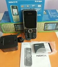 Brand New (BOXED) Nokia C2-01 - Black (Unlocked) Mobile Phone+UK Seller