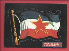 1970 Topps Flags of the World # 76 YUGOSLAVIA
