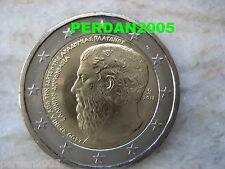 GRECIA 2013  2 EURO FDC UNC 2400° ANNIV. FONDAZIONE ACCADEMIA PLATONICA GREECE