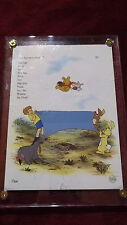 "Winnie the Pooh And the Blustery Day ""Blanket Toss"" Invitation Card"