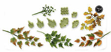 JEM Cake Icing Sugarcraft Floral Florist Foliage Mixed Leaves Leaf Cutter Set 3