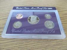 1991 United States Mint Proof Set Lot 125B