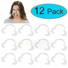 12 x Extra Replacement Mouthpieces For Use With Speak Out Board Game *NEW
