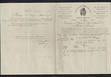 """LILLE (59) USINE de FILS à COUDRE """"LA LILLOISE / SCRIVE Freres"""" en 1891"""