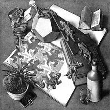 Escher # 15 cm 50x50 Poster Stampa su Carta Fotografica Opaca Matt, Papi Arte