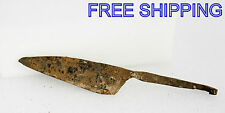 ANCIENT Medieval KNIFE BLADE ROMAN ARTIFACT - 8.5'' long -  Metal detector Found