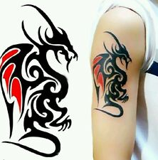 Fashion Painted Dragon Waterproof Temporary Tattoo