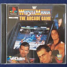 PS1 - Playstation ► World Wrestling Federation Wrestlemania: The Arcade Game ◄