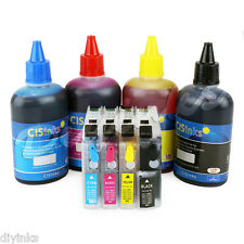 Refillable Cartridge Kit and Ink Set for Brother LC203 LC205 MFC-J5620DW J5720DW