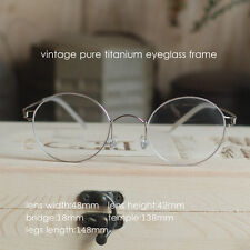 Vintage Titanium Round Glasses mens HARRY POTTER Eyeglasses Frames Spectacles