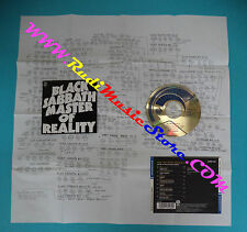 CD BLACK SABBATH Master of reality japan VERTIGO 23PD-135 (Xs6) no lp mc dvd