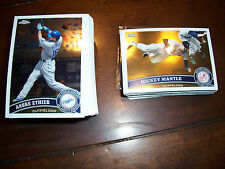 2011 2012 2013 2014 2015 Topps Chrome Baseball & Refractors lot set pick 20 NM