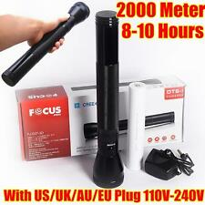 3D Focus 2000meter CREE LED TACTICAL Tactical Waterproof FLASHLIGHT Torch 1 Mode