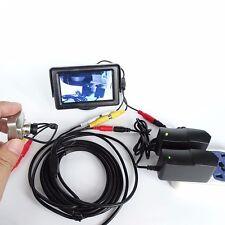 HD Infrared night vision lens 420TVl camera IR +4.3 inch screen+5m AV line Power