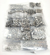560 PCE A4 STAINLESS STEEL ALLEN SOCKET CAPS, WASHERS, NYLOC NUTS & FULL NUT KIT