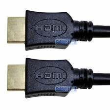 5m High Speed + Ethernet 1.4v HDMI LEAD TV CABLE GOLD FULL HD 1080p MALE to MALE