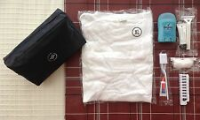 10 SkyTeam Business Amenity Travel Bag Kit with Accessories + White XL TShirt