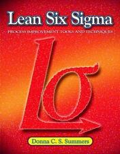 NEW - Lean Six Sigma by Summers, Donna, Hard Student