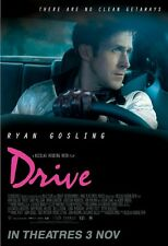 Drive movie poster (b) - Ryan Gosling poster : 11 x 17 inches