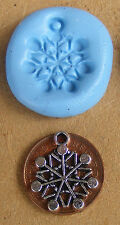 Reusable Snow Silicone Mould, Mold, Sugarcraft, Jewellery, Card Topper Food Safe
