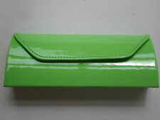 Beautiful Bright Green Patent 'JUICY' Glasses Case - NEW