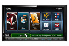 "Kenwood DNX772BH 6.95"" DVD Receiver w/ Navigation Bluetooth and HD Radio B"