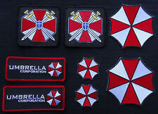 Resident Evil Umbrella CORPORATION Costume Full [Set of 8] patches