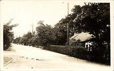 ? Formby. Road, Cottage & Telephone Poles.