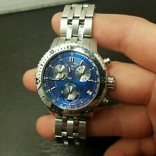NEEDS BATTERY TISSOT 1853 BLUE FACE WATCH PRS 200 T067417A