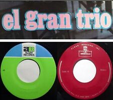 "EL GRAN TRIO 10 Latin 7"" 45 RPM Singles ALGAR MONTILLA RECORDS"