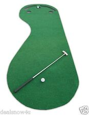 Par Three Putting Green 3 x 9 Feet Synthetic Turf Artificial Grass Golf Training