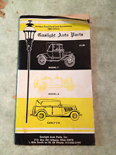 """""""Gaslight Auto Parts"""" 1982 Edition Antique Ford Parts and Accessories #1578"""