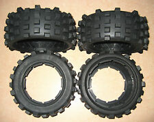 TOP QUALITY KNOBBY MONSTER GIANT GRIP TIRES by MadMax Fit 1/5 LOSI 5IVE-T DBXL