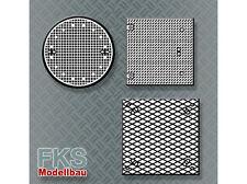FKS 160-060-17 - Schachtabdeckung Typ 3-5, Set mit 20 Stück - Spur N - NEU