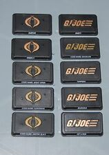 GI Joe name plate stands for 3.75 figures. Lot 2