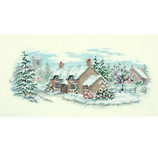 Derwentwater Designs carriles Cross Stitch Kit-Holly Lane