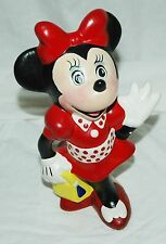 Minnie Mouse Vintage Ceramic Figure Statue Disney Mickey Hand Painted?