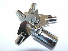 NEW LOCK FOR BRADLEY TOWING HEAD & IFOR WILLIAMS TRAILER FOUR HIGH SECURITY KEYS