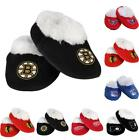 NHL Hockey Team Logo Children Infant Baby Booties Shoes Slippers - Great Gift!