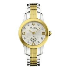 Accutron Women's 65P100 Masella Two Tone Quatrz Swiss Made Watch