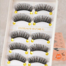 5 Paar/set Lang Dick Wimpern Künstliche Wimpern Eyelashes Makeup Beauty