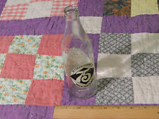 Coca-Cola (1902-1977) 75th Anniversary (GLASS BOTTLE) Meridian Co. (FREE SHIP.)