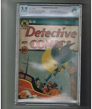 DETECTIVE COMICS (v1) #43 CBCS Grade 3.5 Gold Age find starring Batman!