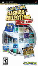 Capcom Classics Collection Remixed PSP New Sony PSP